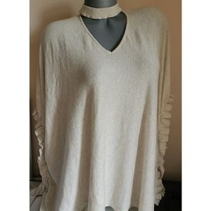 Loose Fitted Cream Maurices Blouse